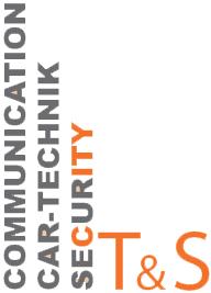 T & S Communication Security und Cartechnik Logo